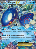 Kyogre-EX from Primal Clash