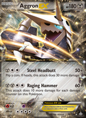 Aggron-EX from Primal Clash