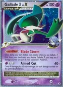 Gallade 4 LV.X from Rising Rivals