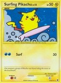 Surfing Pikachu from Rising Rivals