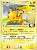 Raichu GL from Rising Rivals