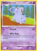 Nidoran ♀ from Rising Rivals