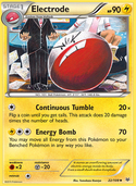 Electrode from Roaring Skies