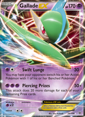 Gallade-EX from Roaring Skies