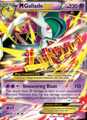 M Gallade-EX from Roaring Skies