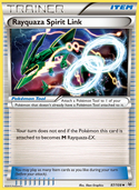 Rayquaza Spirit Link from Roaring Skies