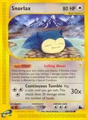 Snorlax from Skyridge