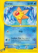 Staryu from Skyridge