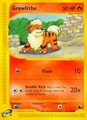 Growlithe from Skyridge