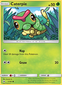 Caterpie from Sun and Moon