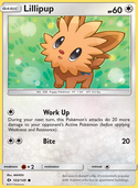 Lillipup from Sun and Moon
