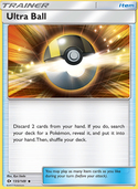 Ultra Ball from Sun and Moon