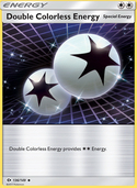 Double Colorless Energy from Sun and Moon