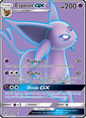 Espeon-GX from Sun and Moon