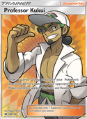 Professor Kukui from Sun and Moon