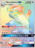 Gumshoos-GX from Sun and Moon