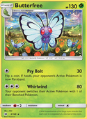 Butterfree from Sun and Moon