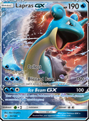 Lapras-GX from Sun and Moon