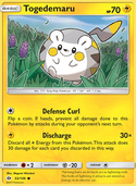 Togedemaru from Sun and Moon