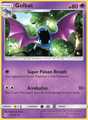Golbat from Sun and Moon