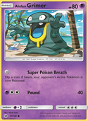 Alolan Grimer from Sun and Moon