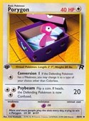 Porygon from Team Rocket