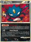 Weavile from Undaunted