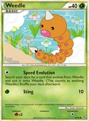 Weedle from Unleashed