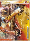Entei & Raikou LEGEND (Bottom) from Unleashed