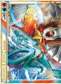 Suicune & Entei LEGEND (Top) from Unleashed