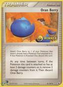 Oran Berry from Winner cards