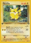 Pikachu from « W » Promos