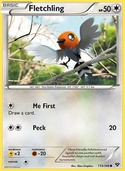 Fletchling from XY
