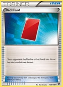 Red Card from XY