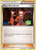 Team Flare Grunt from XY
