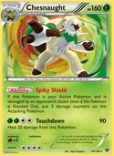 Chesnaught from XY