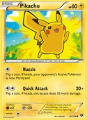 Pikachu from XY