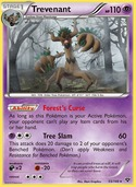 Trevenant from XY