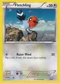 Fletchling from XY Trainer Kit