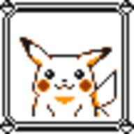faceset faceset_yellow_pikachu game_boy pikachu pocket_monsters_pikachu pokemon_yellow sprite yellow // 54x54 // 397