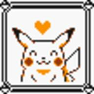 faceset faceset_yellow_pikachu game_boy pikachu pocket_monsters_pikachu pokemon_yellow sprite yellow // 54x54 // 425