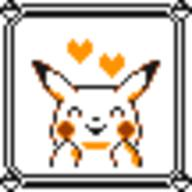 faceset faceset_yellow_pikachu game_boy pikachu pocket_monsters_pikachu pokemon_yellow sprite yellow // 54x54 // 417