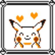 faceset faceset_yellow_pikachu game_boy pikachu pocket_monsters_pikachu pokemon_yellow sprite yellow // 54x54 // 409