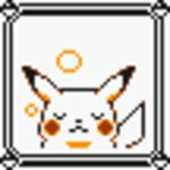 faceset faceset_yellow_pikachu game_boy pikachu pocket_monsters_pikachu pokemon_yellow sprite yellow // 54x54 // 380
