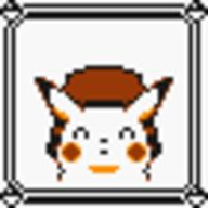 faceset faceset_yellow_pikachu game_boy pikachu pocket_monsters_pikachu pokemon_yellow sprite yellow // 54x54 // 384