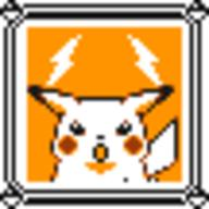 faceset faceset_yellow_pikachu game_boy pikachu pocket_monsters_pikachu pokemon_yellow sprite yellow // 54x54 // 441