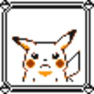 faceset faceset_yellow_pikachu game_boy pikachu pocket_monsters_pikachu pokemon_yellow sprite yellow // 54x54 // 375