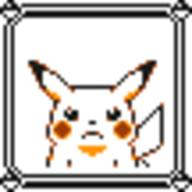 faceset faceset_yellow_pikachu game_boy pikachu pocket_monsters_pikachu pokemon_yellow sprite yellow // 54x54 // 388