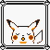 faceset faceset_yellow_pikachu game_boy pikachu pocket_monsters_pikachu pokemon_yellow sprite yellow // 54x54 // 362