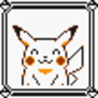 faceset faceset_yellow_pikachu game_boy pikachu pocket_monsters_pikachu pokemon_yellow sprite yellow // 54x54 // 402